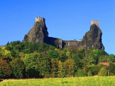O prázdninách se konají speciální noční prohlídky hradu Trosky