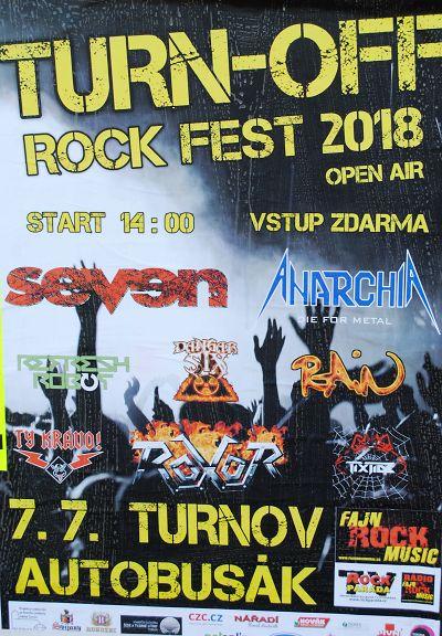 Turn-off rock fest potřetí přináší nálož ostřejší muziky