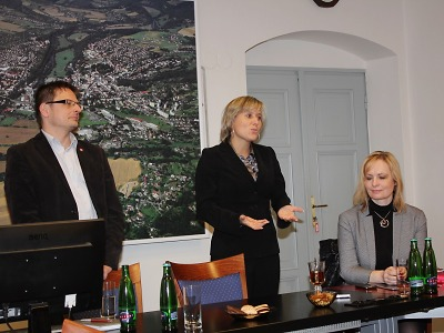 Do Turnova zavítala náměstkyně ministra vnitra pro veřejnou správu
