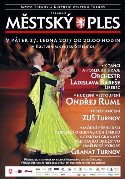 Městský ples v Turnově již klepe na dveře