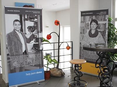 Na turnovské radnici probíhá výstava fotografií Tady jsem doma