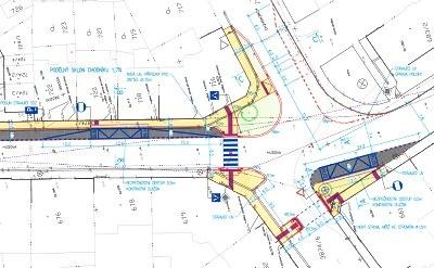Husova ulice v Turnově se dočká nového přechodu pro chodce
