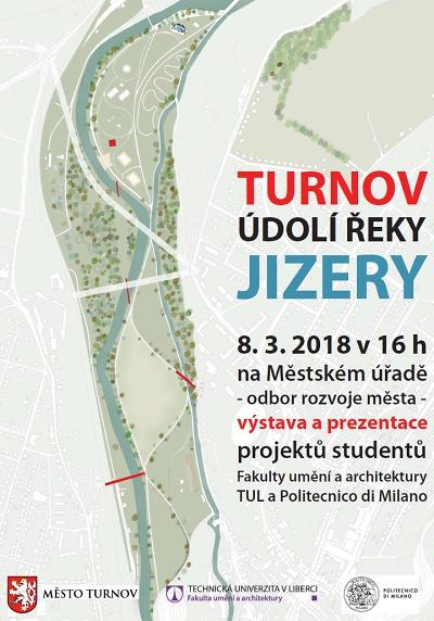 Studie nivy Jizery v Turnově představí výstava na místní radnici