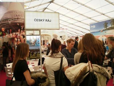 O prezentaci Turnova a Českého ráje na Holiday World 2017 byl zájem