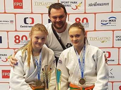 Turnovská dvojčata Zárybnická zlatá na Judo Grand prix Ostrava