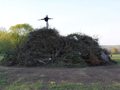 Na pálení čarodějnic můžete v Turnově Na Luka již přivážet větve