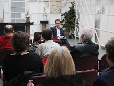 Starosta Turnova diskutoval s občany v centru města