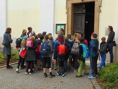 Turnovští žáci putovali po místních památkách