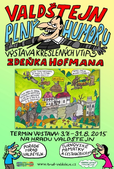Výstavu kresleného humoru Zdeňka Hofmana zahájí Duo Dexempo