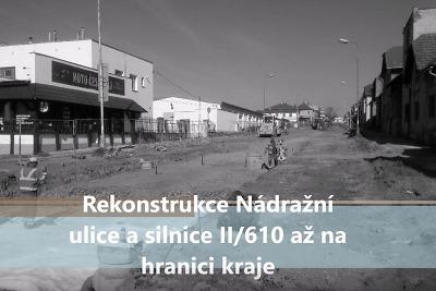 VIDEO: Rekonstrukce Nádražní ulice a okolí viaduktu v Turnově