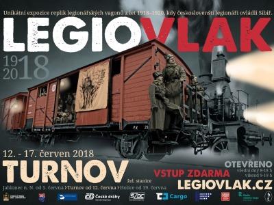 Legiovlak bude mít zastávku v Turnově
