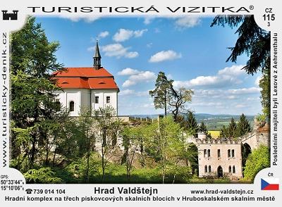 Vydali nové turistické vizitky Turnova a hradu Valdštejn