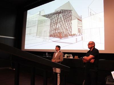 Turnovští občané diskutovali nad projektem nového divadla