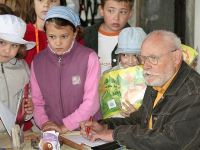 Odešel autor knížek pro děti Jiří Kahoun