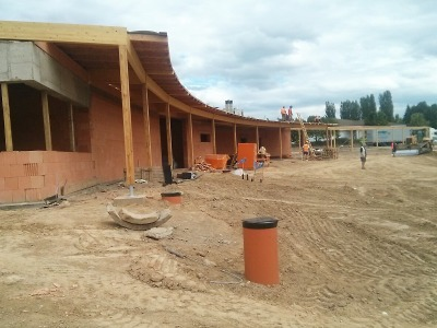 Výstavba turnovského areálu Maškova zahrada pokračuje na plný výkon