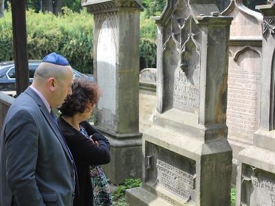 Izraelský velvyslanec prožil v Turnově zajímavý den