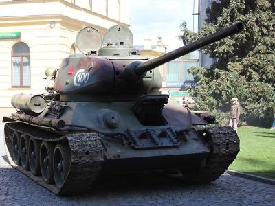 Turnov si Slavností ke dni vítězství připomněl výročí konce 2. světové války
