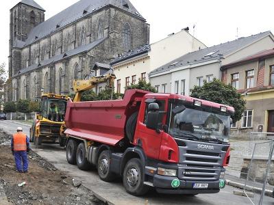 Startuje očekávaná rekonstrukce turnovské ulice 28. října