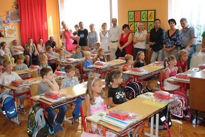 Školní rok je 4. září zpět i s novými žáky turnovských základních škol