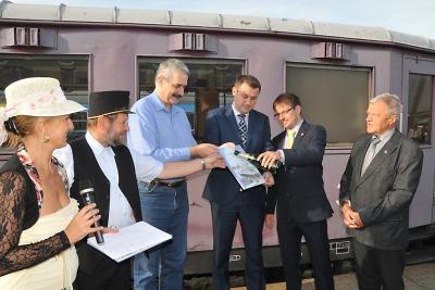 První zářijový víkend byl v Turnově ve znamení oslav železnice