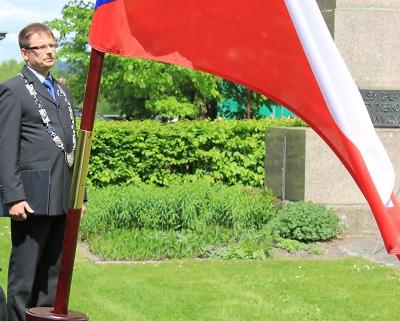 Kampaň Vlajka pro Masaryka a Československo opět v Turnově