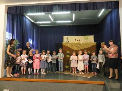 Turnovští předškoláci se rozloučili se svými mateřskými školami