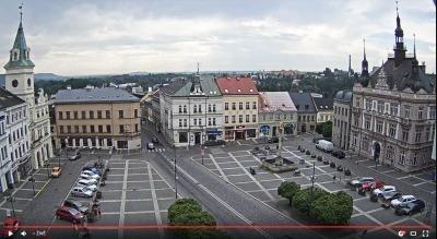 Turnovské náměstí snímá nová webkamera