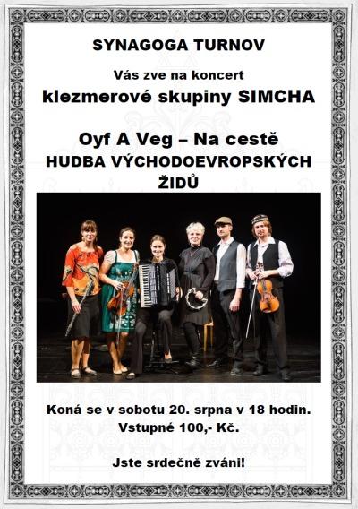 Turnovskou synagogu rozezní další koncert