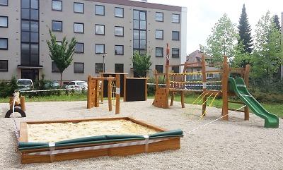 Rekonstruované dětské hřiště v Dělnické ulici v Turnově otevřou 14. září