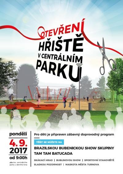 S novým školním rokem otevřou hřiště v turnovském centrálním parku