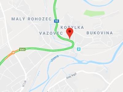 Stabilizace zdi Kobylka v Turnově omezí provoz na komunikaci I/10