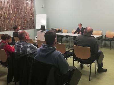 Občané Bukoviny, Kobylky a Dolánek diskutovali se starostou Turnova