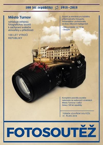 Turnov vyhlašuje fotografickou soutěž k 100. výročí republiky