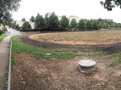 Jak probíhá rekonstrukce hřiště pod halou TSC v Turnově II