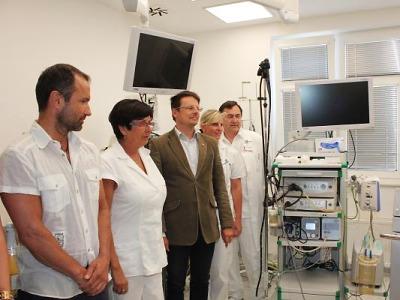 Turnovské IBD centrum získalo nový přístroj v hodnotě 700 tisíc