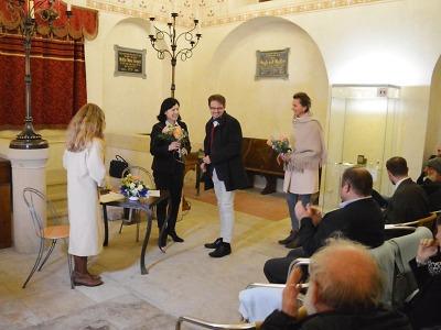 Eurokomisařka Věra Jourová besedovala v Turnově