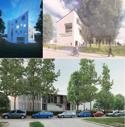 Představili tři studie na novou budovu turnovské knihovny