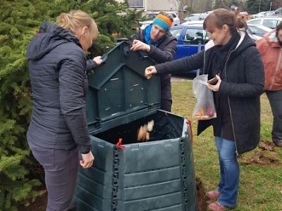 První sídlištní kompostér v Turnově otevřen