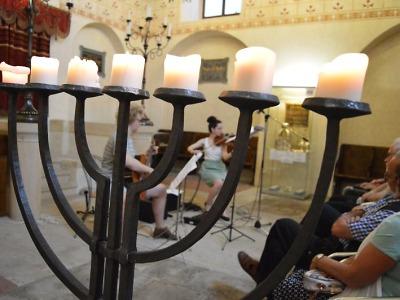 V turnovské synagoze se konal koncert studentů Ježkovy konzervatoře