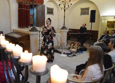 Jedinečný koncert byl k vidění v Synagoze Turnov