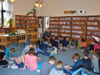 Březen měsíc čtenářů v turnovské knihovně