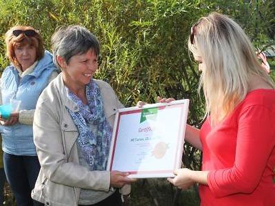 Turnovská školka v ulici 28. října získala ocenění Skutečně zdravá škola
