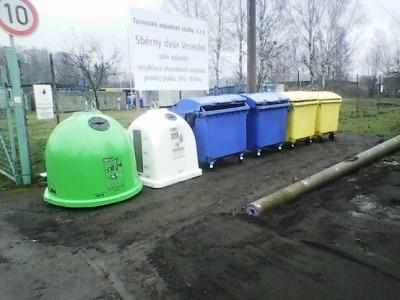 Turnov má nová místa pro tříděný odpad