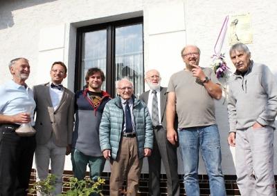 Horolozecký festival zahájili odhalením pamětní desky Josefu Smítkovi