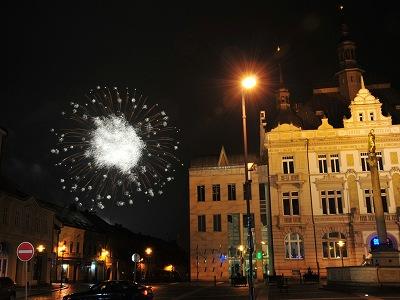 Turnováci už tradičně přivítali příchod nového roku odpoledne 1. ledna