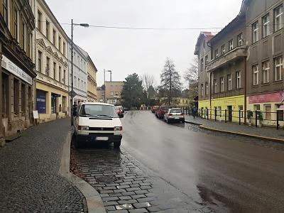 Proběhne úprava parkovacího pruhu v turnovské Palackého ulici