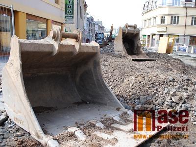 Obrazem: Jak probíhá rekonstrukce Palackého ulice v Turnově