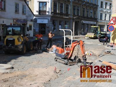 Rekonstrukce Palackého ulice v Turnově přinesla změnu v dopravě