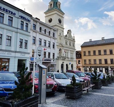 Na náměstí Českého ráje v Turnově bude půlhodina parkování zdarma