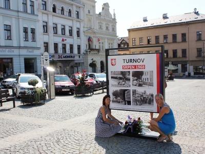 V Turnově připomněli invazi Varšavské smlouvy do Československa